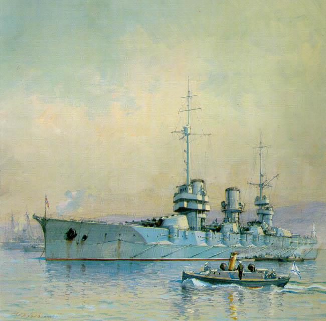 Линкор императрица мария рисунок