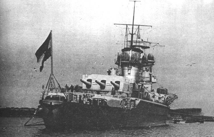 Фотография карманный линкор адмирал